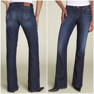 LUCKY BRAND . Delaware Classic Rider Jeans . 00/24
